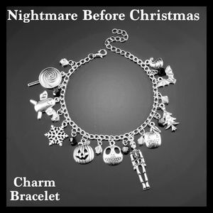 Jewelry - Nightmare Before Christmas Charm Bracelet
